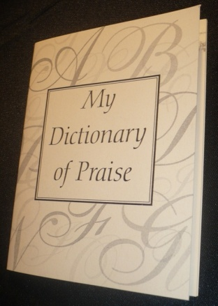 "Donna's Book ""My Dictionary of Praise"""
